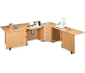 Sylvia diseño modelo 1810Q Quilters centro de costura para grandes máquinas: Amazon.es: Juguetes y juegos