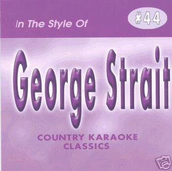 GEORGE STRAIT Country Karaoke Classics CDG Music CD