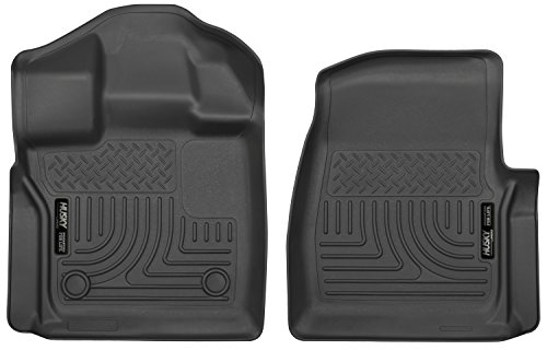 Husky Liners Front Floor Liners Fits 15-19 F150 Standard Cab ()