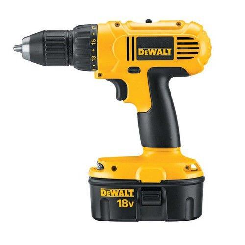 DeWALT 18-volt Ni-cad Compact Drill/driver Kit,cordless D...