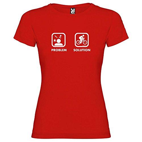 kruskis 11502145sk108T-shirt, Femme, Rouge, S
