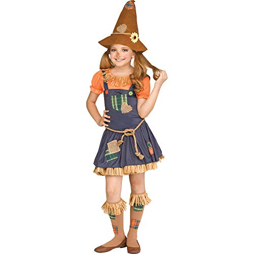 Fun World Scarecrow Costume, X-Large 14-16, Multicolor ()