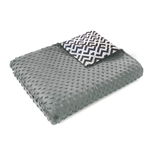 Quility Premium Kids & Adult Removable Duvet Cover for Weighted Blanket | 48