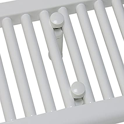 Myhomeware 300/mm de Large Plat Blanc Droite S/èche-Serviettes pour radiateur de Salle de Bain de Cuisine Chauffe Chauffage Central Uniquement 300x1400mm High Radiateur Uniquement