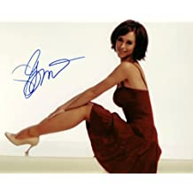 Jennifer Love Hewitt Autographed 8x10 Color Photograph - Signed in Blue - Obtained In Person - The Client List /Ghost Whisperer / Garfield - Mint - Rare - Collectible