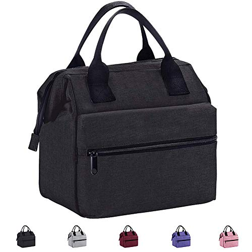Srise Lunch Box Insulated Lunch Bag For Men and Women Meal Prep Lunch Tote Boxes