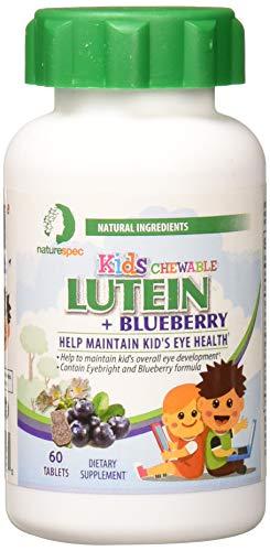 Nature Spec Kids Chewable Lutein Premium Blueberry
