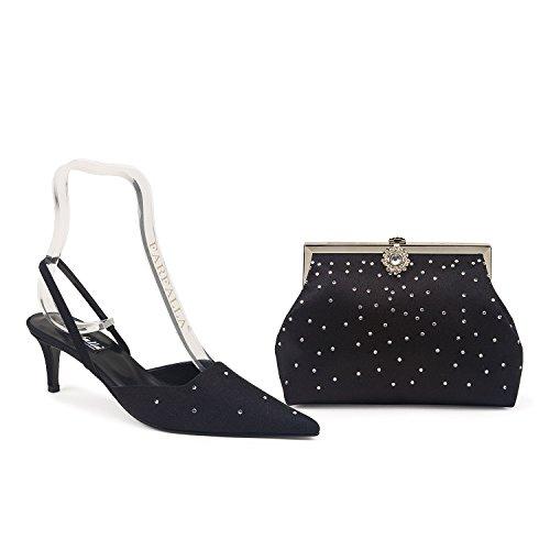 Passende Schuhe Tasche Luxury und Farfalla Schwarz BAYfqZ