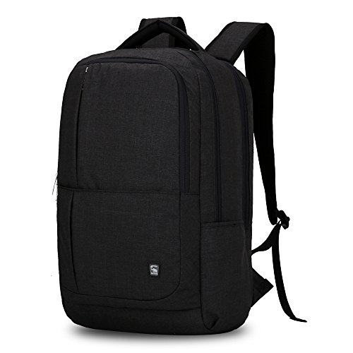 Oiwas Nylon Business Backpack with Large Full Separate Mult-Compartment for 17 Inch Laptop Notebook