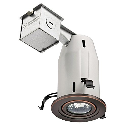Lithonia Lighting LK3GORB M6 Recessed Gimbal Kit, 3