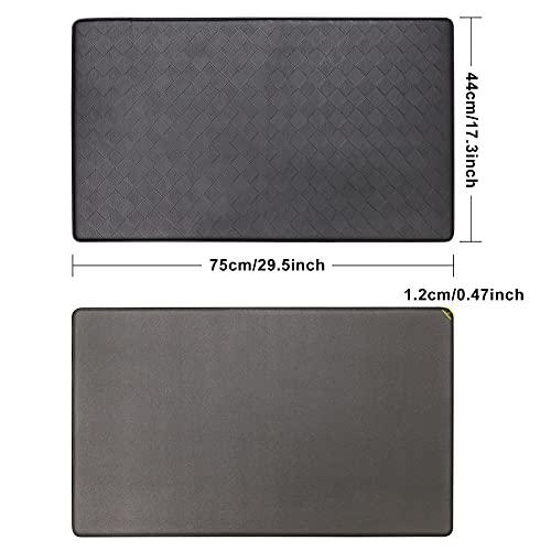 Kitchen Rug, Anti Fatigue Standing Mat, Heavy Duty Floor Mat for Kitchen, Comfort Runner Cushioned Mat, Waterproof Non Skid Kitchen Mat