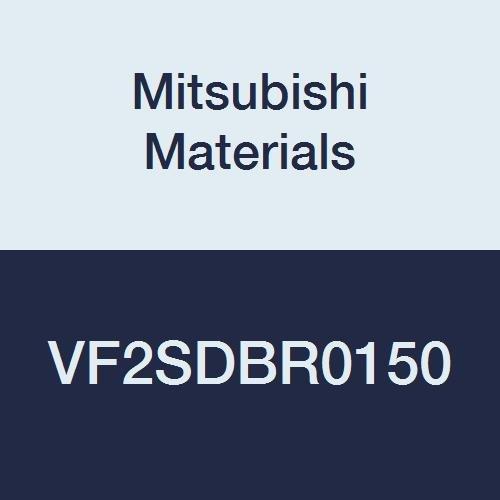 Short Flute Mitsubishi Materials VF2SDBR0150 VF2SDB Series Carbide Impact Miracle Ball Nose End Mill for Hardened Steel 6 mm Shank Dia 2 Flutes 3 mm LOC 3 mm Cut Dia 1.5 mm Corner Radius