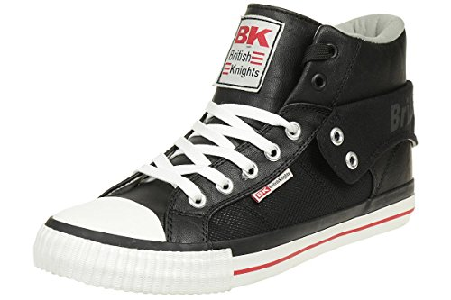 British Knights ROCO BK men trainer Sneaker B37-2707-10 black, shoe size:EUR 46