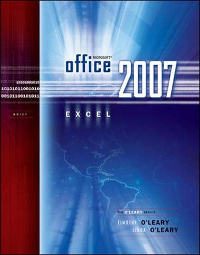 Microsoft Office Excel 2007 Brief (O'leary Series)