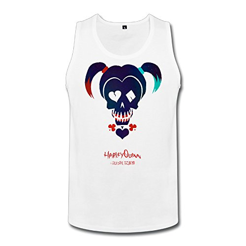 Man's Moisture-wicking Sleeveless Shirt With Suicide Squad Harley Quinn (Kids Harley Quinn Mallet)