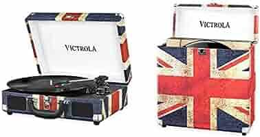Victrola Suitcase Tocadiscos en maleta Vintage Bluetooth y ...