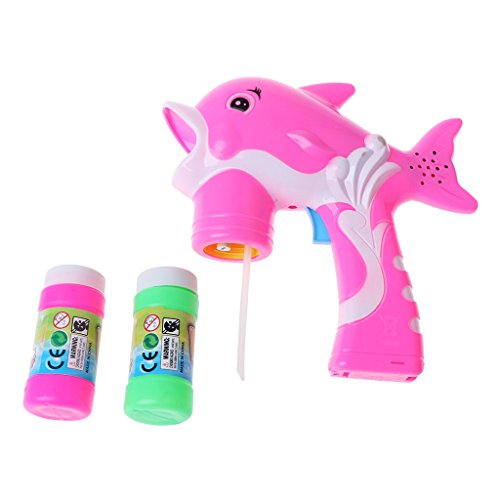 Shaoge Music Light Electric Dolphin Bubble Gun with