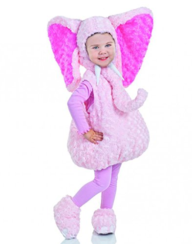 [Underwraps Baby's Elephant Belly-Babies, Pink, Large] (Warm Halloween Costumes For Kids)