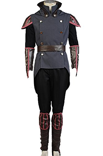 CosplaySky Avatar The Legend of Korra Costume Amon Halloween Outfit Medium -