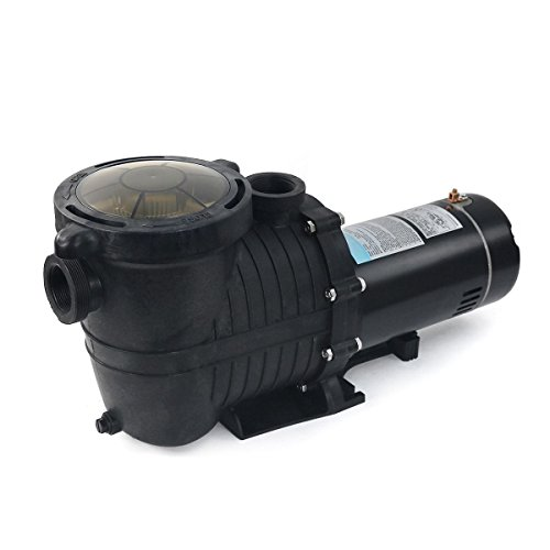 GHP 3450RPM 1.5HP 5280GPH Single Phase 1.5'' & 2'' Thread Inground Swimming Pool Pump by Globe House Products