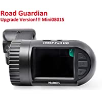 Mini 0801S Dash Cam With Motion Detection, GPS, G-sensor, Capacitor, 1080P FHD, 1.5 LCD, Night Vision Dashcam Camera Mini0801S Upgraded Mini0801 And Micro USB Port