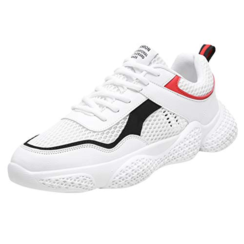 (iHPH7 Walking Sneakers,Casual Breathable,Athletic Walking Running Shoes,Trail Running Shoe,Swim Shoes,Barefoot Shoes,Barefoot Running Shoes,Sport Hiking Water Shoe (43,White))