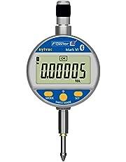 "Fowler Sylvac Lifetime Warranty Mark VI Electronic Bluetooth Indicator, 54-530-355-0, 0-1.000""/25mm Measuring Range, 0.00005""/.001mm Resolution, 0.00016""/.004mm Accuracy"