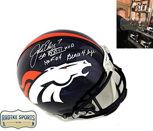 Denver Broncos Signed Helmets. John Elway ... 4842b581a