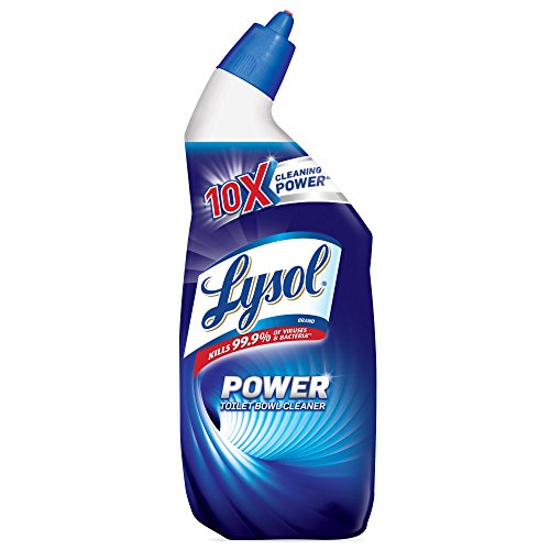 Lysol Lime & Rust Remover Toilet Bowl Cleaner, 24oz, 10X Cleaning Power