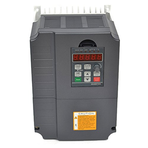 - CNC 7.5kw 7500w 220v 10HP 34a 10hp Variable Frequency Drive Inverter VFD for Spindle Motor Speed Control