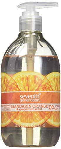 Seventh Generation Hand Wash, Mandarin Orange & Grapefruit Scent, 12oz ()