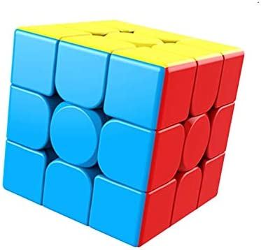 SpaceRail High Speed 3x3 Colors Magic Rubik Cube Puzzle Toy with Adjustable Speed (5.5cm)