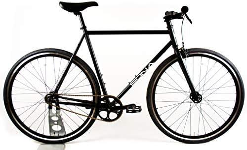 Sona - Bicicleta Fija de una Sola Velocidad, 58 cm, Color Negro ...