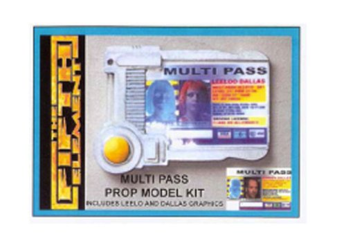 The Fifth Element Multipass Prop Model Kit