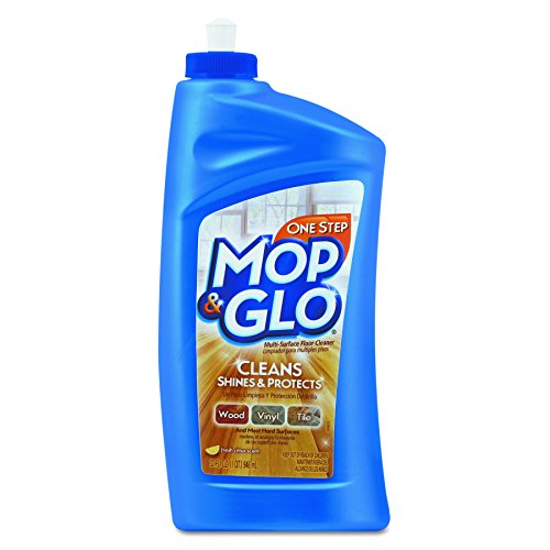 Mop & Glo Floor Cleaner (Mop & Glo Multi-Surface Floor Cleaner, 32 Ounce (Pack of 6))