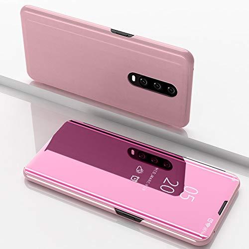 Funda® Espejo Enchapado Flip OPPO RX17 Pro (Oro Rosa): Amazon.es ...