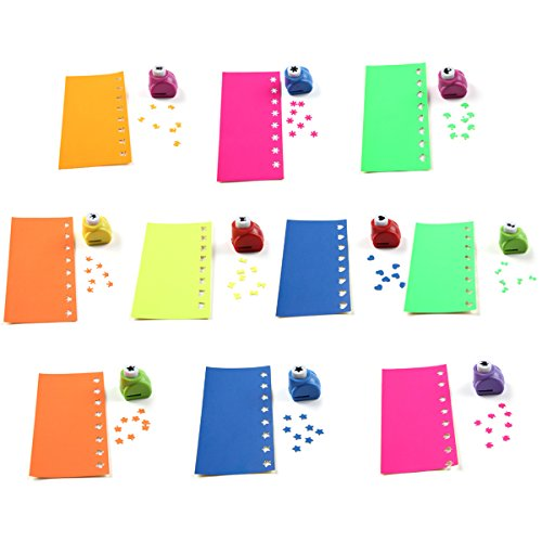 SiCoHome Paper Punch,Scrapbooking Punches for Kids,Pack of