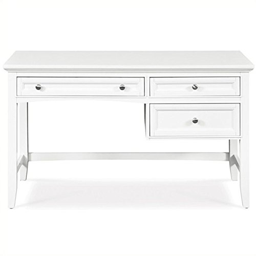 Y1875-30 Kenley Next Generation Youth Three Drawer Desk in White Finish by Magnussen (Image #3)