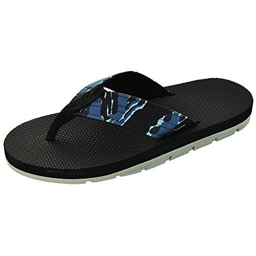 Ö Toffel Camo Sandal Blåttcamo