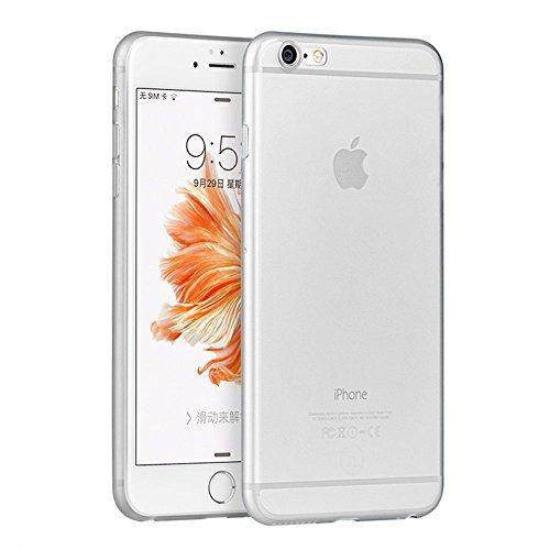 "VSHOP ® Coque Silicone Gel Integrale Iphone 6 PLUS (5.5"") Transparent 360° Degrés TPU"