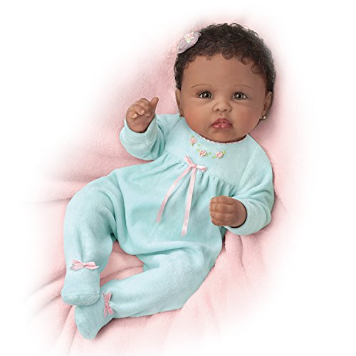 The Ashton-Drake Galleries Linda Murray So Truly Real Tiffany Weighted Poseable Baby ()