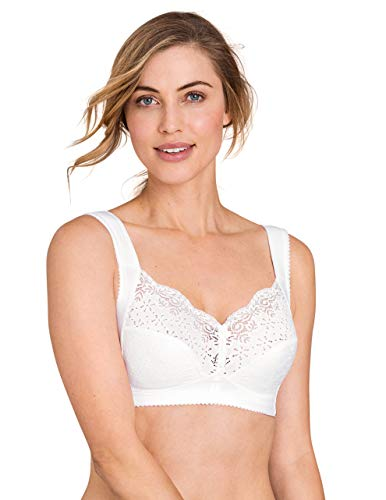 Miss Mary Of Sweden Star Women's Non-Wired Full Cup Cotton Bra with Lace