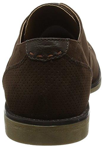 Brown Malone Derby Uomo Stringate Scarpe Marrone 160 Burton Menswear London ExqOO8