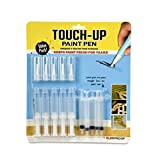 Slobproof Touch Up Paint Pen | Fillable Paint Brush Pens for Wall Paint Touch-Ups, Drywall Repair & Cabinet Paint | Stores House Paint, Furniture Paint & Wood Paint Fresh Inside for 7 Years, 5-Pack