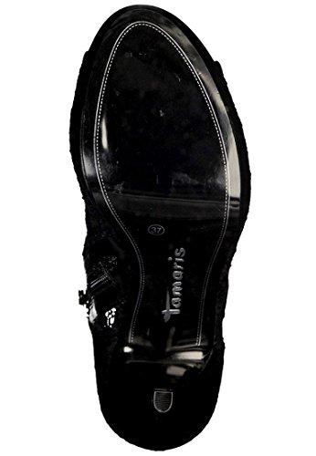 Tamaris Pumps Spitze Peeptoe Pumps 1-28307-35 001 Black Black