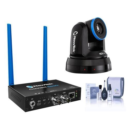 NewTek NDIHX-PTZ1 NDI PTZ Camera - With NewTek Connect Spark SDI, Cleaning Kit Inc.