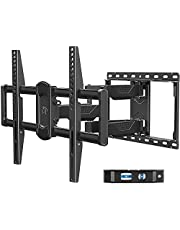 """Mounting Dream TV Wall Mount for Most 42-70"""" Flat Screen TVs, Full Motion Wall Mount for TV with Dual Swivel Articulating Arms, Perfect Center Design TV Mount Wall, up to VESA 600x400mm and 100 lbs"""