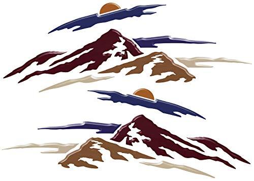 2 RV Keystone Springdale Mountain Scenes Decal Graphics -50