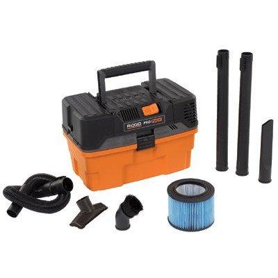 4.5 Gallon 5.0 Peak HP Ridgid - Pro Wet / Dry Vacuum by Ridgid