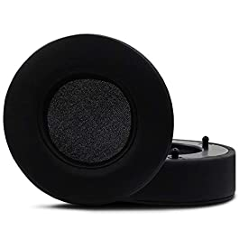 Replacement Earpad Ear Pads for Razer Man'OWar 7.1 Wireless/Wired Surround Sound Gaming Headset, Headphone Ear Cushion/Ear Cups/Ear Cover/Repair Parts,Black